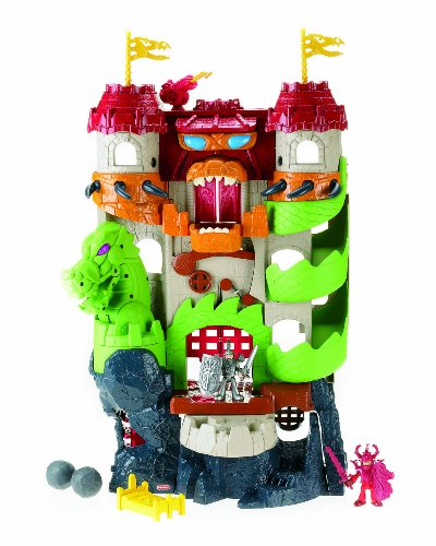 Fisher-Price Imaginext Dragon World Fortress (Dragon Fisher Price Imaginext)