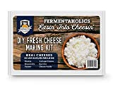 Fermentaholics DIY Fresh Cheese Making Kit - Ricotta, Mozzarella, Burrata, Paneer, Cottage Cheese, etc. - Includes Rennet for Cheese Making, Cheese Salt, Citric Acid, Cheese Cloth, Recipe Booklet