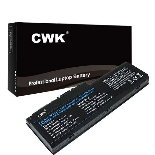 CWK New Replacement Laptop Notebook Battery for Toshiba Satellite P205-S6348 X205-S9810 L355-s7831 L355-S7915 Toshiba PABAS101 Satellite X200-20O P200-10C Toshiba PA3536U-1BRS PA3537U-1BAS PA3537 -