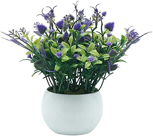 Amazon Com Dserw Artificial Flower Potted Artificial Flower