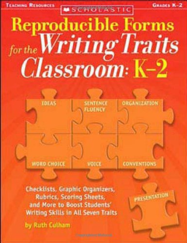 (Reproducible Forms for the Writing Traits Classroom: K-2)