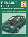 Renault Clio Petrol (91 - May 98) H To R (Haynes Service and Repair Manuals)