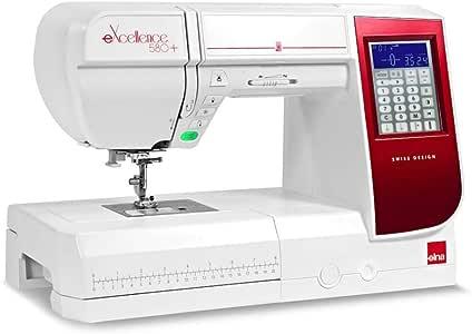 ELNA EXELLENCE 580+ - Máquina de Coser, Gran Rango de Costura, cómodas, fácil de Usar: Amazon.es: Hogar
