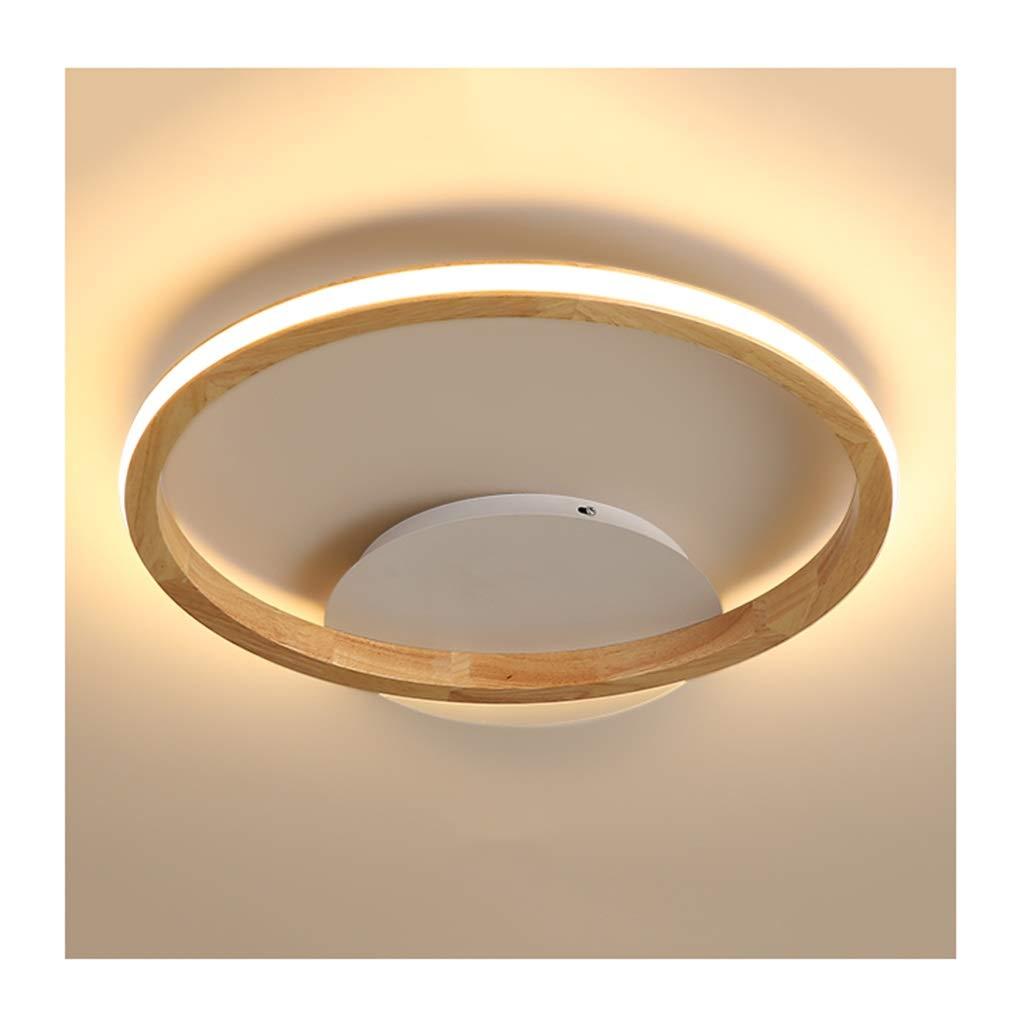 天井照明 シーリングライト、モダンでシンプルな純木アクリルのシーリングライト、LED調光対応、リビングルームの装飾寝室の研究家の商業照明 シーリングライト (Color : Three-color dimming, Size : 63cm) 63cm Three-color dimming B07T4FSRWW