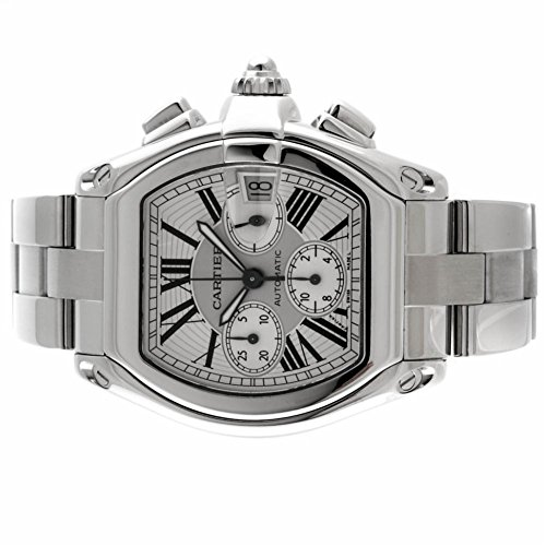 Cartier-Roadster-automatic-self-wind-mens-Watch-W62019X6-Certified-Pre-owned