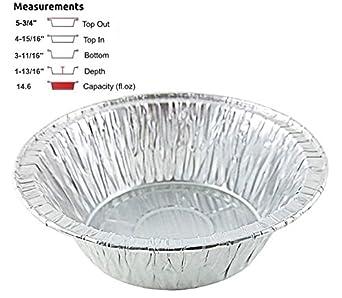 Durable Packaging 5 3/4\u0026quot; Deep Aluminum Foil Chicken Meat/Pot Pie Pan  sc 1 st  Amazon.com & Amazon.com: Durable Packaging 5 3/4\