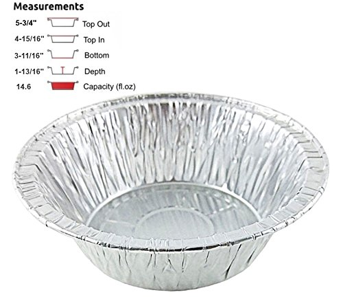 aluminum chicken pot pie pans - 5