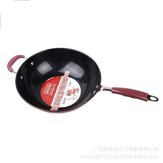 irugh Cerámica antiadherente olla sartén fumar gas horno inducción ...