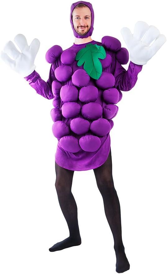 Adult Purple Grapes Halloween Costume