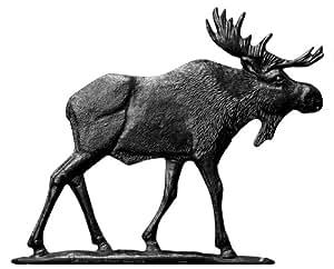 Whitehall Products Moose Weathervane, 30-Inch, Garden Black