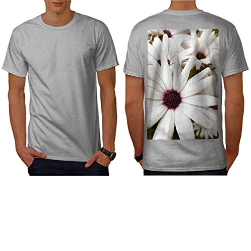 Camomile Blossom Flower Beauty Men NEW M T-shirt Back | Wellcoda