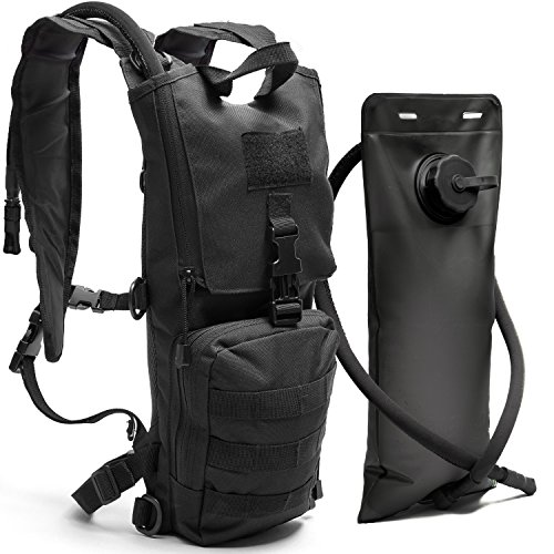 Diaz Sport Tactical Molle Hydration Pack Backpack with 3L...
