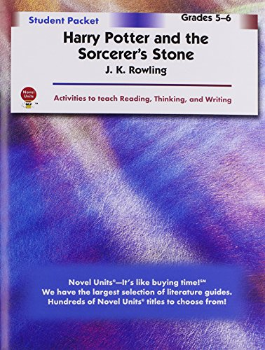 Harry Potter Book Lengths : Harry potter and the sorcerer s stone student packet by