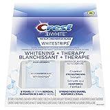 Crest 3D White No Slip Whitestrips Dental Whitening + Therapy Kit, 28 Strips, 20ml, 1 Count