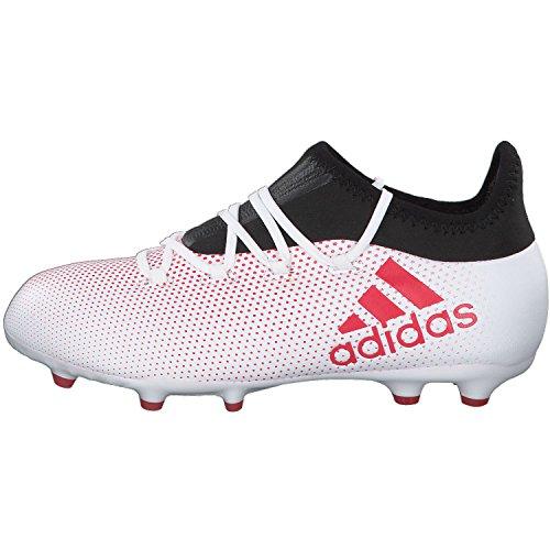 adidas Jungen X 17.1 FG J Fußballschuhe Grau (Grey/Reacor/Cblack)