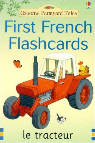 First French Flashcards (Farmyard Tales) (French and English -