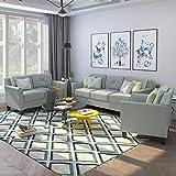 Harper & Bright Designs Living Room 3 Piece Sofa