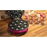 Gourmet Gadgetry 12 Cake Pop Machine Maker, Purple
