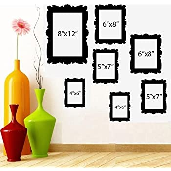 Amazon.com: PICTURE FRAME ~ WALL DECAL 8\