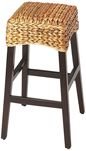 Banana Rattan Weave Barstool (Banana Furniture Weave)
