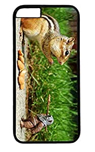 Funny Squirel And Doll PC Black Case for Masterpiece Limited Design iphone 6 by Cases & Mousepads