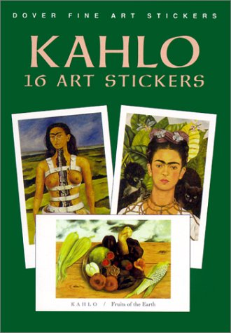 Pdf Crafts Kahlo: 16 Art Stickers (Dover Art Stickers)