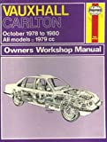 Vauxhall Carlton Owner's Workshop Manual