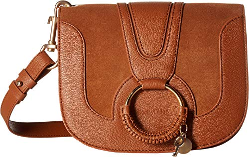 See by Chloe Women's Hana Small Suede & Leather Crossbody Carmelo One Size