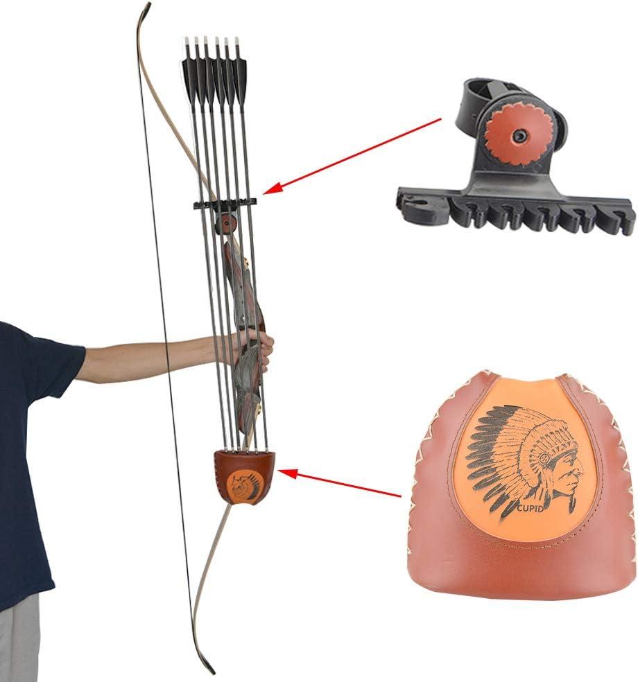 MILAEM Tiro con Arco Carcaj de Flechas para Arco recurvo Soporte de Flecha montado Accesorios de Caza