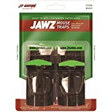 (Pack of 12) JT Eaton 409 Jawz Plastic Mouse Trap for Solid or Liquid Bait