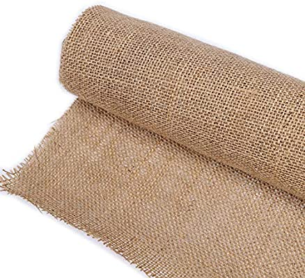 JKoYu Decorations for Home 11 Colors Jute Burlap Fabric Ribbon