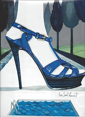 illustratedprint-ad-for-2007-yves-saint-laurent-blue-shoes-by-pool-for-nordstrom