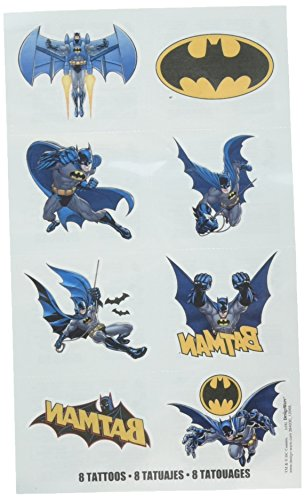 Batman Tattoo Favors, Party Favor -