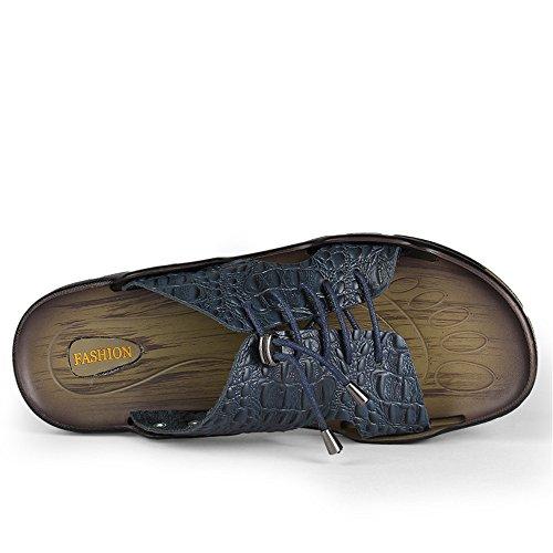 una Fangs uomo stile con Scarpe uomo da Pantofole da di Nuovo sandali parola trascinamento Casual giovent 2018 0frxUq70