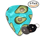 Food Avocado Classic Guitar Picks For Electric/acoustic Guitar,and Bass