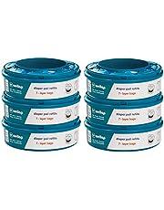 Navulcassettes voor Twist and Click luieremmer (verpakking van 6 stuks)