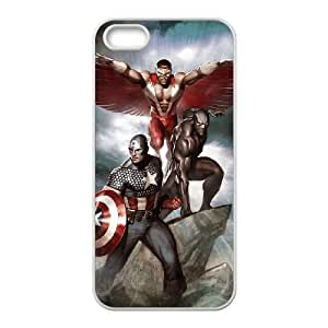 Captain Americ iPhone5s Cell Phone Case White y2e18-373999