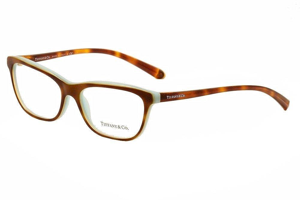 9982d3199a8 Eyeglasses Tiffany 0TF2078 8164 HAVANA SHOT BLUE  Amazon.ca  Clothing    Accessories