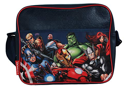 Marvel Avengers Superheroes Symbol Messenger Bag]()