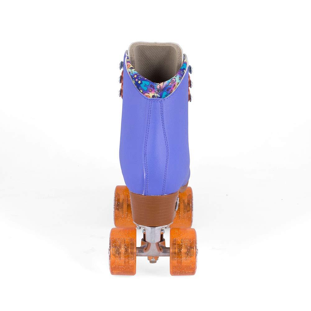 Moxi Skates - Beach Bunny - Fashionable Womens Roller Skates | Periwinkle Sunset | Size 3 by Moxi (Image #2)