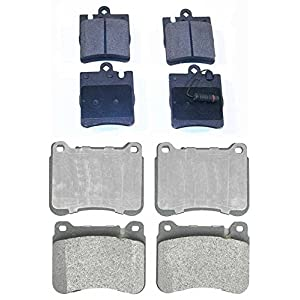 Prime Choice Auto Parts SMK1121-873 Front and Rear Metallic Disc Brake Pads 8
