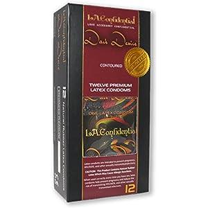 Caution Wear Condoms L.a Confidental Dark Desire Pack Latex Condoms, 12 Count