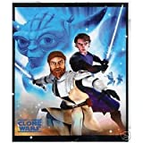 Lucas Entertainment Star Wars Keep The Force 50 by 60-Inch Micro Raschel Throw