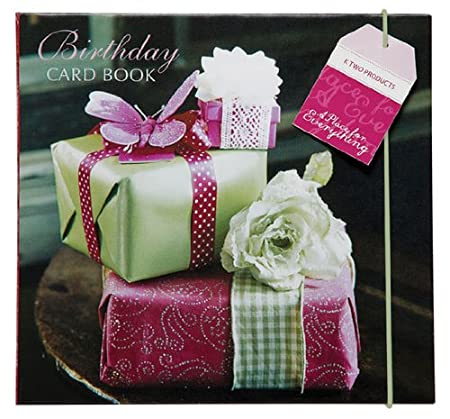 Birthday Card Book Home Planner For Birthday Cards And Gift Ideas