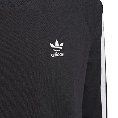 S white Originals Black Dress Trefoil Little Girls' Adidas gPB4aq
