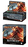 Magic: the Gathering: Fate Reforged Combo Pack (1 Booster Box & 1 Fat Pack) Plus Free Pack of AoM Sleeves