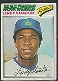 1977 Topps Leroy Stanton Mariners Baseball Card #226