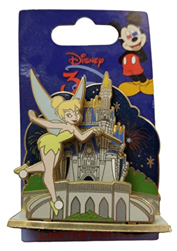 WDW Trading Pin - WDW - 3D Attractions - Cinderella Castle - Tinker Bell ()