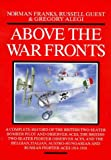 Above the War Fronts, Norman Franks and Russell Guest, 1898697566