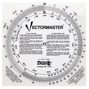 Slide Rule Scales - Weems & Plath Marine Navigation Vectormaster Circular Slide Rule and Navigation Tool